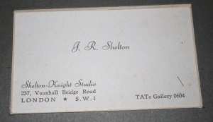 Shelton Knight Studios, 237 Vauxhall Bridge Road, SW1