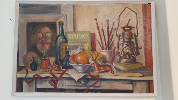 Still life with red tape (1958)