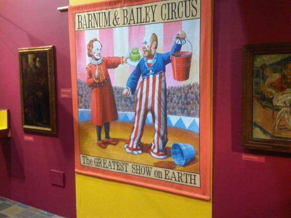 Circus exhibition, Potteries Museum & Art Gallery (July - Dec. 2013)